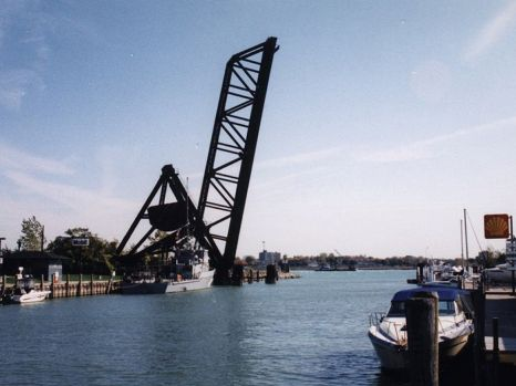 PM Port Huron Black River Bascule Bridge